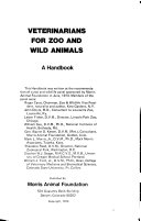 Veterinarians for Zoo and Wild Animals