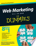 """Web Marketing All-in-One Desk Reference For Dummies"" by John Arnold, Ian Lurie, Marty Dickinson, Elizabeth Marsten, Michael Becker"