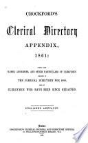 Crockford S Clerical Directory