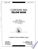 Corporate 1000 Yellow Book