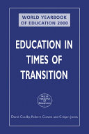 World Yearbook of Education 2000