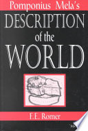 Pomponius Mela's Description of the World Online Book