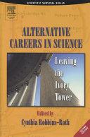 Alternative Careers in Science [Pdf/ePub] eBook