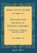 Documentary Journal Of General Assembly
