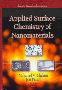 Applied Surface Chemistry of Nanomaterials Book