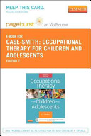 Occupational Therapy for Children Pageburst on VitalSource Access Code