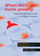 When AIDS meets poverty
