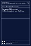 European Citizenship  Multiculturalism  and the State