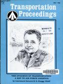 Transportation Proceedings