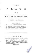 The plays of William Shakespeare, with the corrections and illustr. of various commentators. To which are added notes by S. Johnson