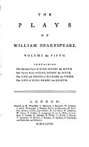 The plays of William Shakespeare  with the corrections and illustr  of various commentators  To which are added notes by S  Johnson