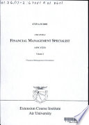 Financial Management Specialist  AFSC 67251