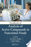 Handbook Of Analysis Of Active Compounds In Functional Foods Book PDF