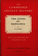 The Cities of Babylonia