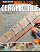 Black   Decker Here s How    Ceramic Tile