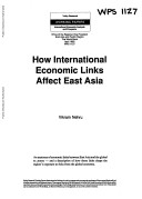How International Economic Links Affect East Asia
