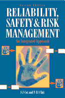 Safety Reliability And Risk Management Book PDF