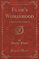 Pdf Elsie's Womanhood