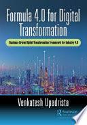 Formula 4 0 for Digital Transformation