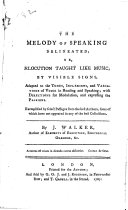 The Melody of Speaking  Delineated