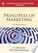 Principles Of Marketing  For Delhi Unive