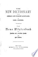 The New Dictionary of the German and English Languages