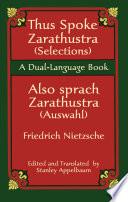 Thus Spoke Zarathustra  Selections  Also sprach Zarathustra  Auswahl  Book PDF