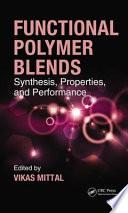 Functional Polymer Blends Book