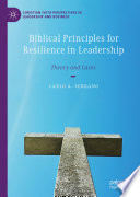 Biblical Principles for Resilience in Leadership Book PDF