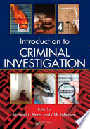 Introduction to Criminal Investigation Book