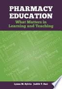 Pharmacy Education Book PDF