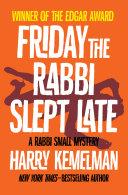 Friday the Rabbi Slept Late Pdf/ePub eBook
