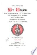 The Works of Ben Jonson