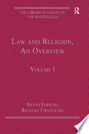Law and Religion, An Overview