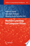 Machine Learning for Computer Vision Book