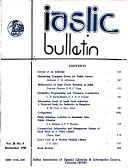 IASLIC Bulletin