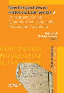 Constituent Syntax: Quantification, Numerals, Possession, Anaphora