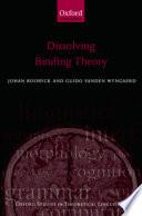 Dissolving Binding Theory