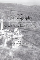 The Biography of a New Canadian Family