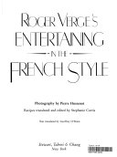 Roger Verg   s Entertaining in the French Style