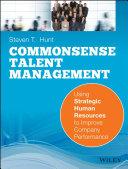 Common Sense Talent Management