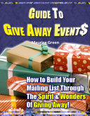 Guide to Give Away Events Pdf/ePub eBook