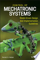 Control of Mechatronic Systems Book