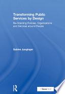 Transforming Public Services by Design