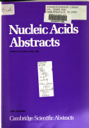 Nucleic Acids Abstracts