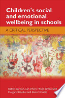 Children s Social and Emotional Wellbeing in Schools Book