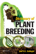 Pdf Dictionary of Plant Breeding Telecharger