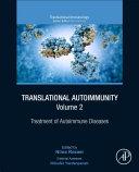 Translational Autoimmunity, Vol. 2