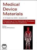 Medical Device Materials Book PDF