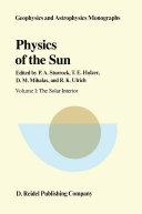 Physics of the Sun Pdf